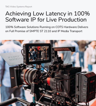 IP for Live Production Guide from TAG on lp multiviewer